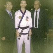Repertorio il Maestro sSmone Dilettuso con i capi scuola della Corea e USA in un torneo a Tucson AZ